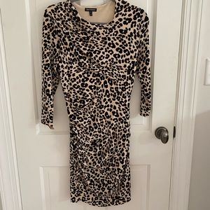 Juicy Couture leopard 🐆 stretchy knee dress